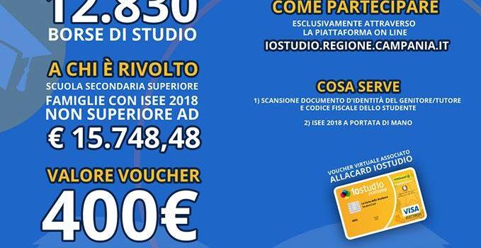 Bando Borse di Studio 2017/2018 – Regione Campania