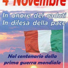4 Novembre …… viva l'Italia