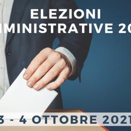 Elezioni Amministrative 2021 – 3 e 4 ottobre 2021 – Programmi Amministrativi